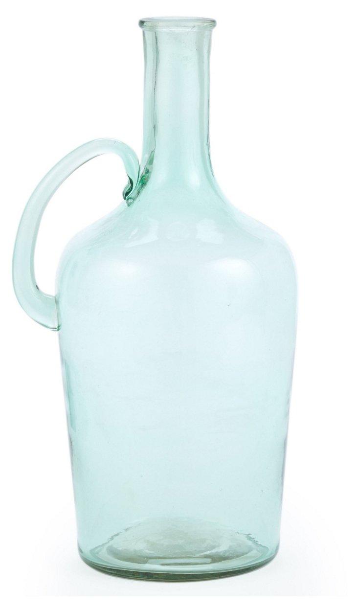 """10"""" Glass Handled Bottle"""