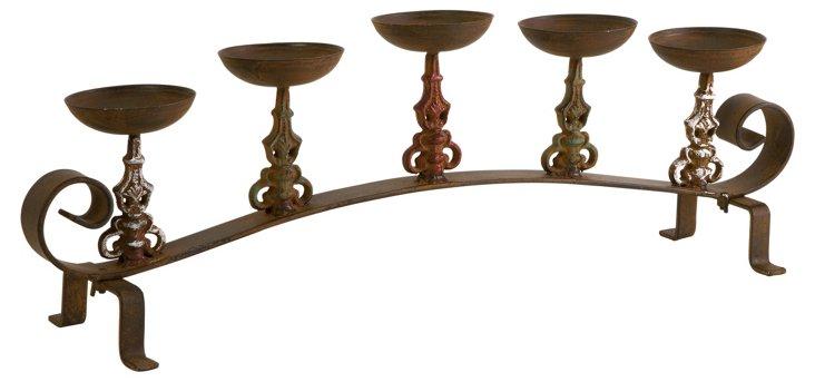 5-Pillar Candleholder