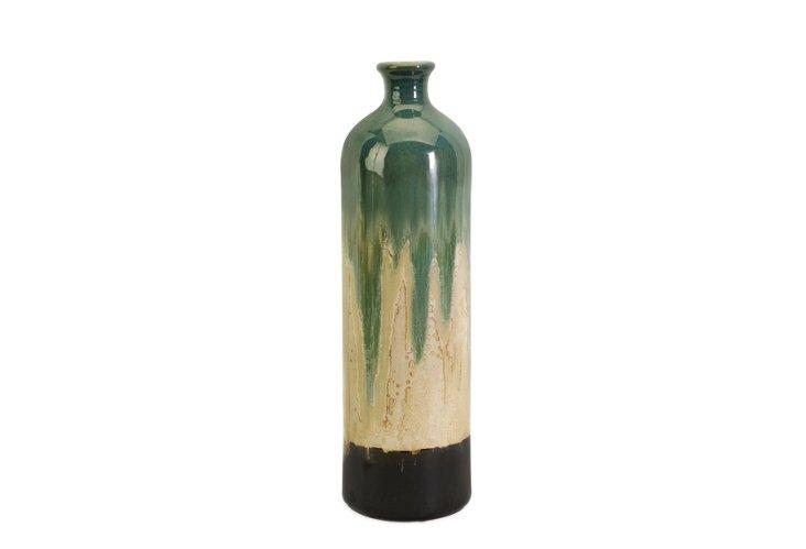 """20"""" Ombré Drip Vase"""