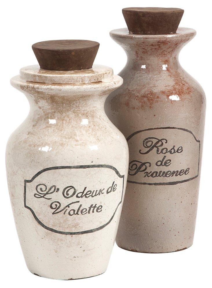 Asst. of 2 Decorative Perfume Bottles