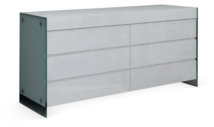 Il Vetro Dresser, White