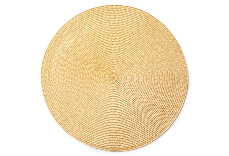 S/4 Woven Place Mats, Taupe
