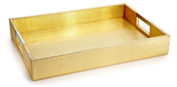 Hollywood Tray, Gold