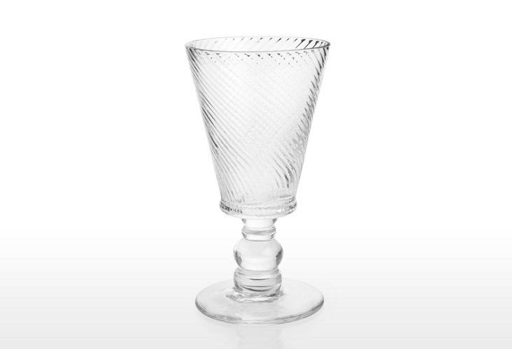 S/6 Roma Goblets, Clear