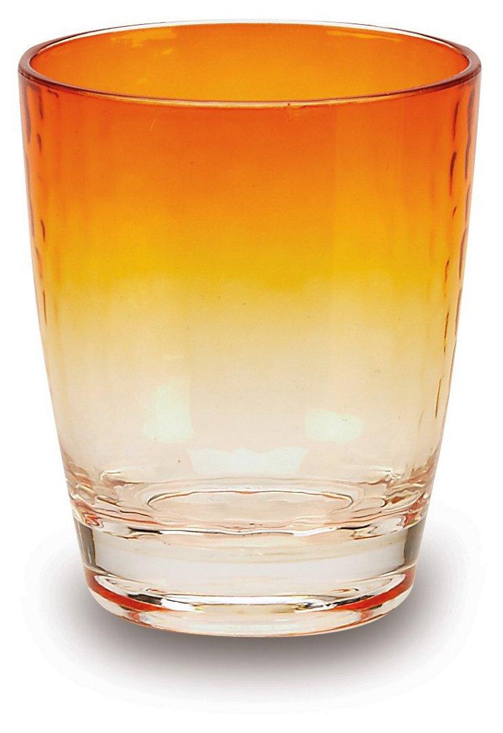 S/6 Sunset DOF Glasses, Orange