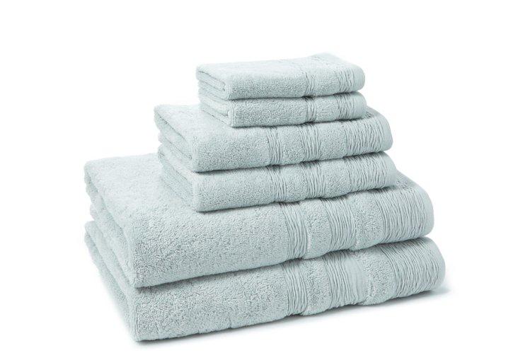 6-Pc St Germaine Towel Set, Seaglass