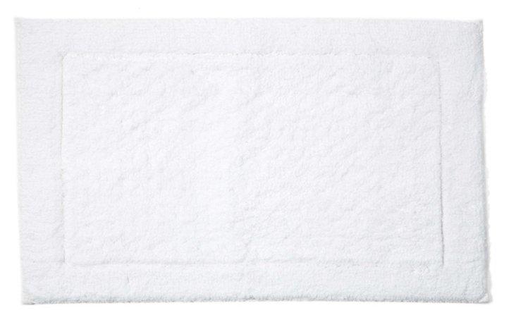 Sublime Bath Rug, White