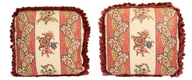 Custom Brunswig & Fils Pillows, Pair