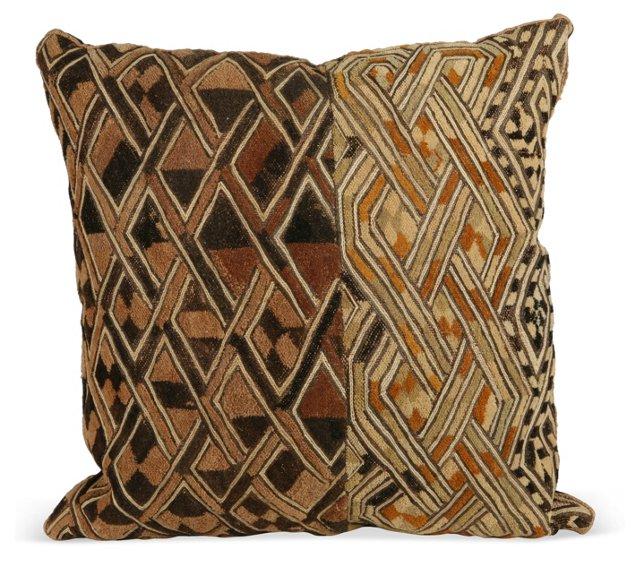 Kuba Cloth Pillow II