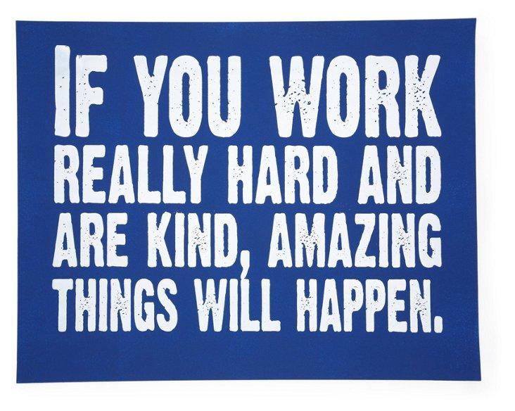 Work Hard, Cobalt