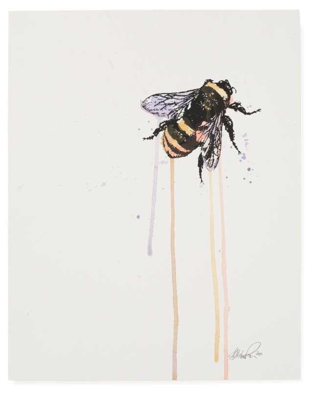 Bee Watercolor