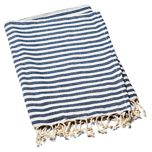 Beach Candy Towel, Dark Berry