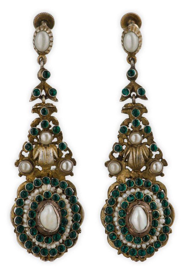 Antique Austro-Hungarian Earrings