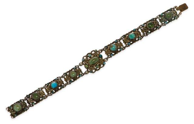 Austro-Hungarian Turquoise Bracelet I