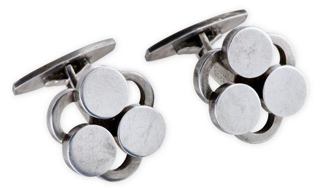Hansen Danish Silver Cufflinks