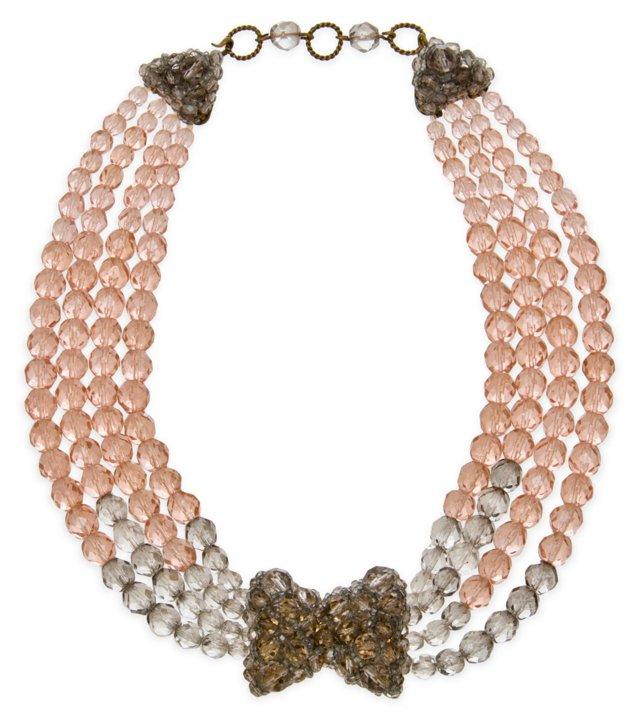 Italian Coppola e Toppo Glass Necklace