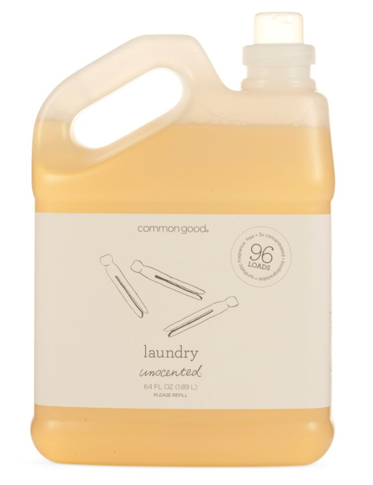 64 Oz Laundry Detergent, Unscented