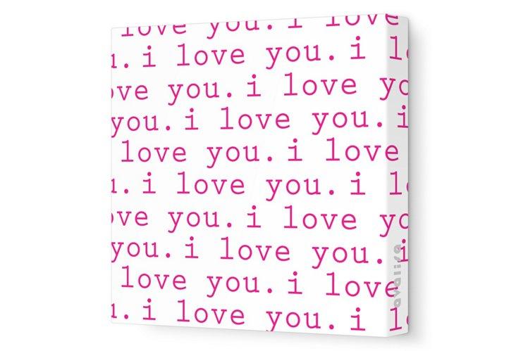 Fuchsia I Love You