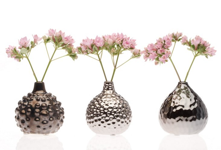 Gourd Vases, 3 Asst.