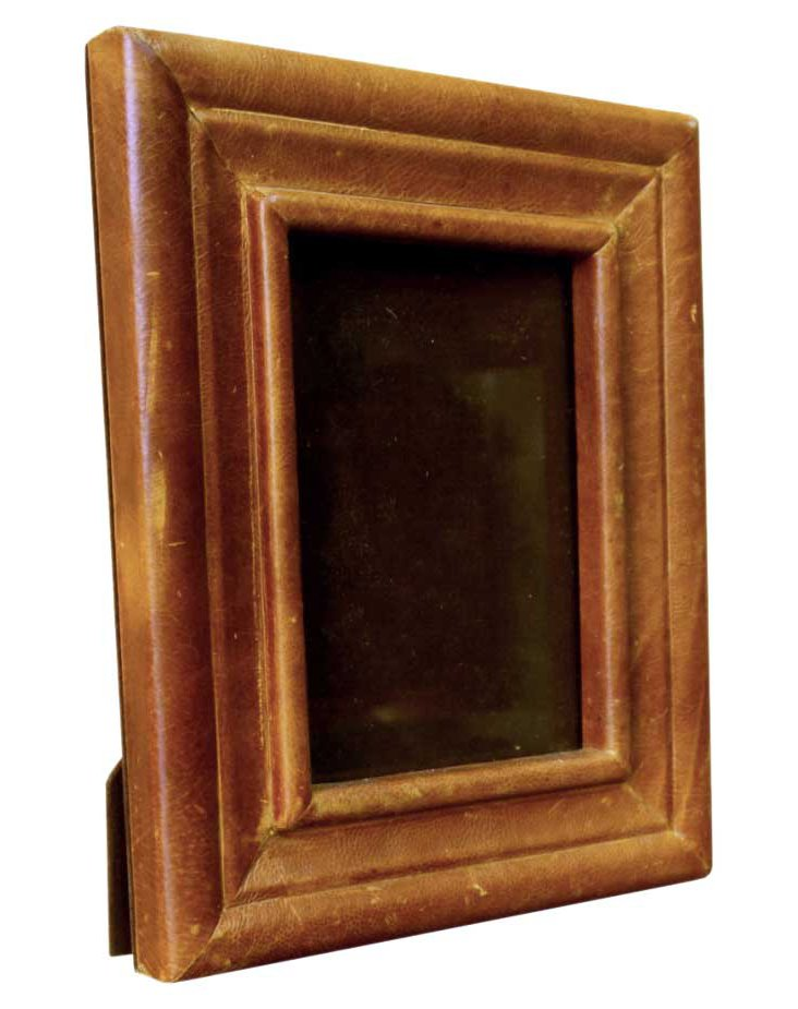 5x7 Leather Frame, Tan