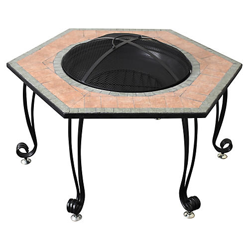 Thomas Fire Pit, Black