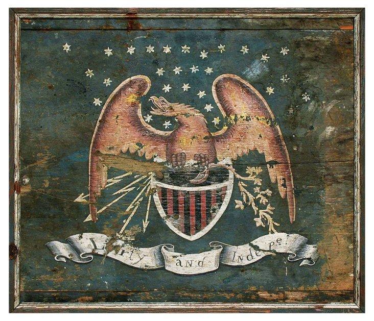 "23"" Liberty Eagle Sign"