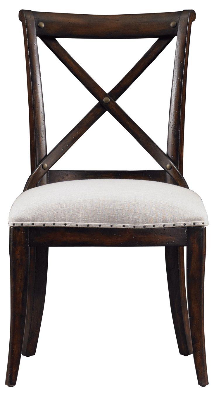 Farmhouse Side Chair, Espresso