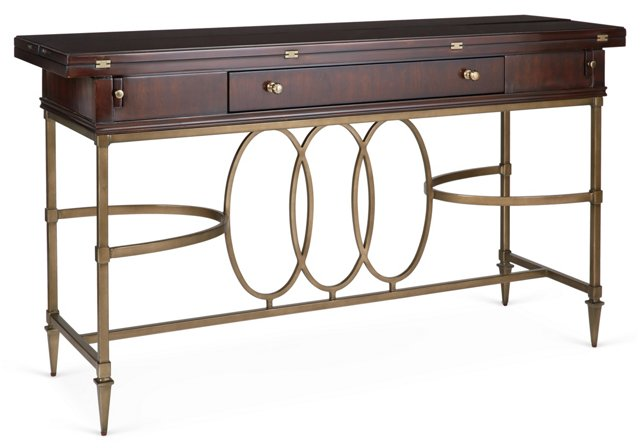 "Avalon Heights 56"" Drop-Leaf Console"