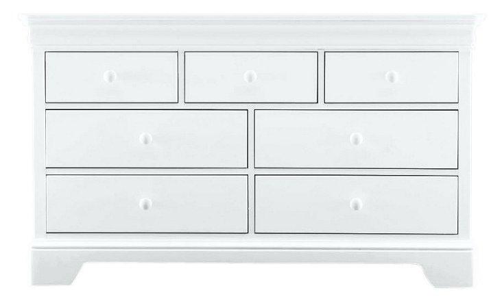 All Seasons Double Dresser, White