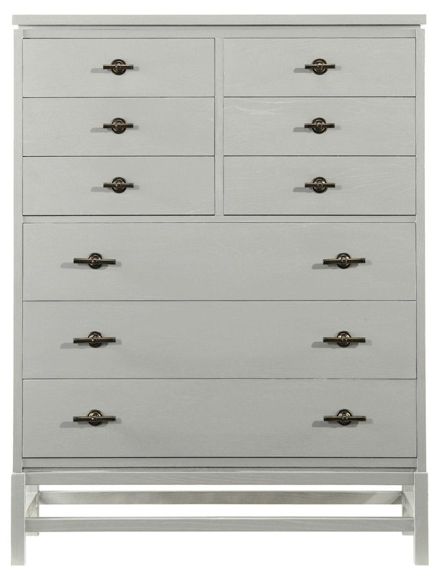 Tranquility Isle Drawer Chest, Gray