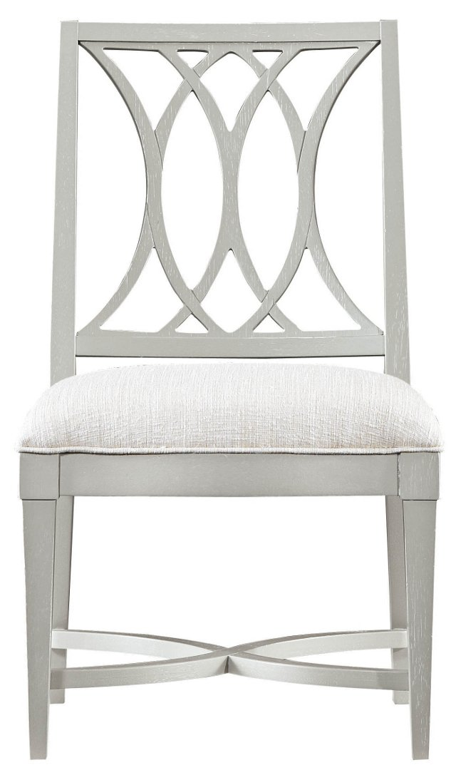Heritage Coast Side Chair, Gray