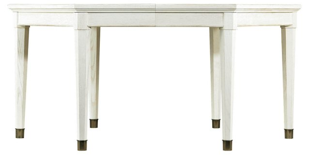 Soledad Extension Dining Table, Ivory