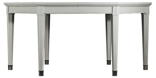 Soledad Extension Dining Table, Gray