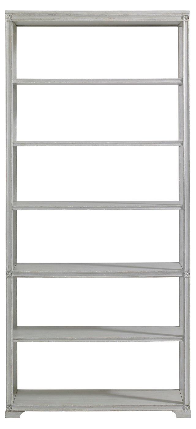 Broad Street Bookcase, Gray