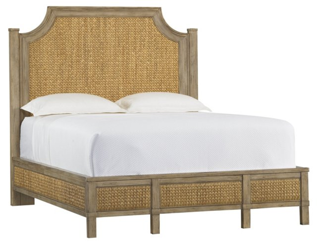 Water Hyacinth Woven Bed, King