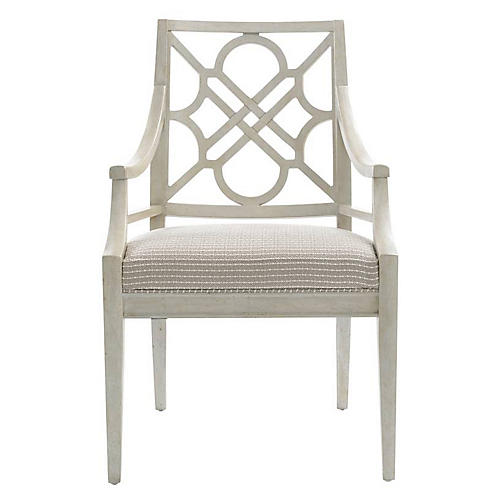 Barbara Chippendale Armchair, Gray