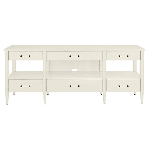 Mulholland Media Console, White