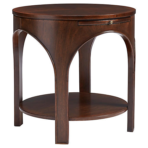Portico Side Table, Colonial Mahogany
