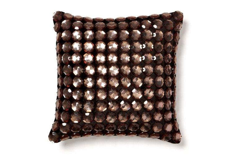 Stones 12x12 Pillow, Black