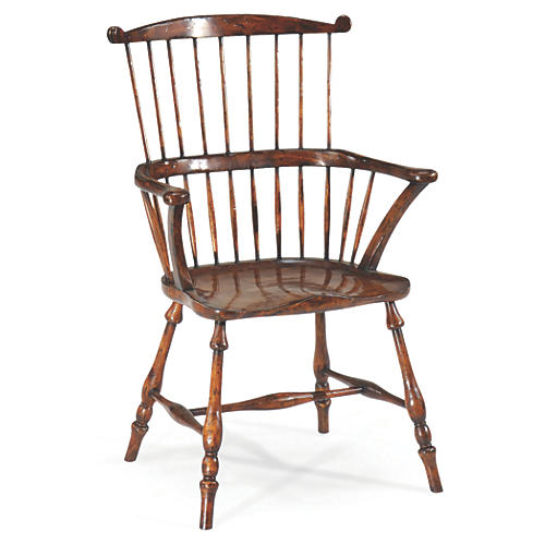 Annie Windsor Armchair, Walnut