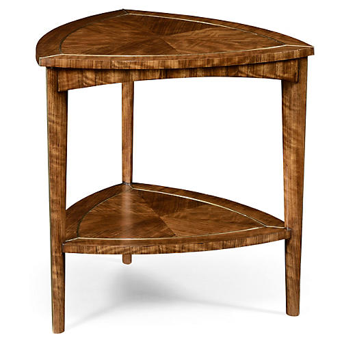 Heidi Side Table, Natural/Gold