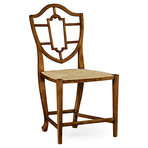 Aveburn Side Chair, Caramel