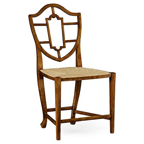 Aveburn Side Chair, Caramel