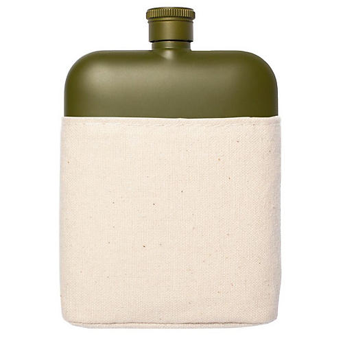 Zoi Flask & Carrier Set, Army Green