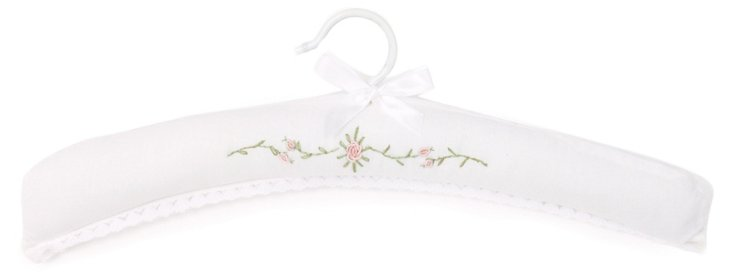 Rose Spray Hanger, Pink/White