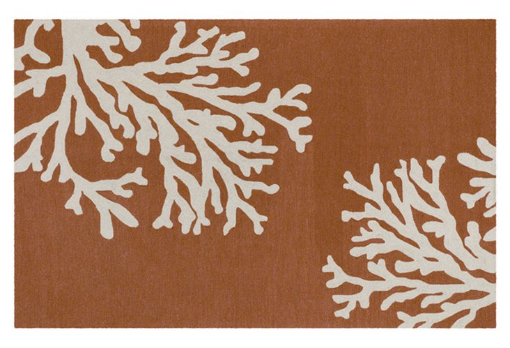 Pacifica Outdoor Rug, Brown