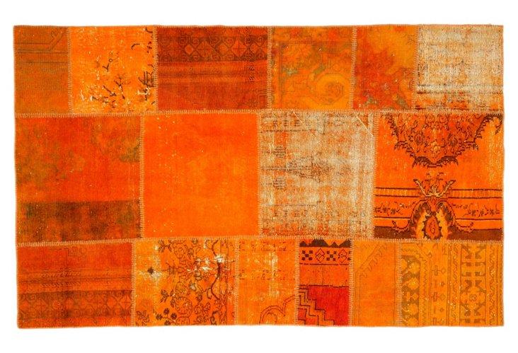 5' x 8' Marion Rug, Orange Peel