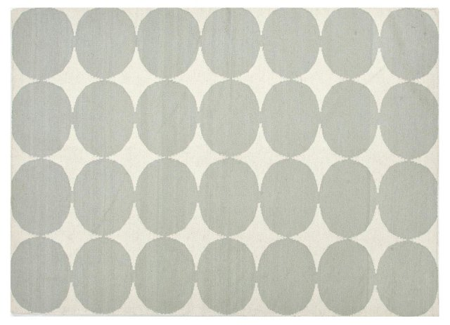 Bonita Rug, White/Gray