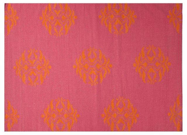 Cajon Flat-Weave Rug, Fuchsia