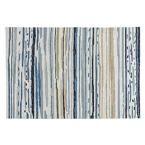 Perry Outdoor Rug, Blue